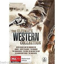 The Ultimate WESTERN Collection DVD NEW 8-MOVIES 8-DISCS COLLECTOR'S BOX SET R4