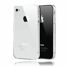 Ultra Clear Transparent Hard Cover Case For Apple iPhone 4S 4