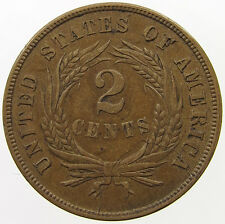 UNITED STATES 2 CENTS 1865  #T6 005