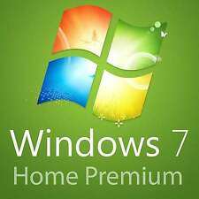 Microsoft MS Windows 7 Home Premium für 1PC • Original • 32+64 Bit Vollversion