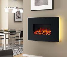 moderne elektro kamine aus metall ebay. Black Bedroom Furniture Sets. Home Design Ideas