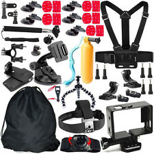 46 in 1 Pole Head Chest Mount Strap GoPro Hero 2 3 4 Camera Accessories Set Kit