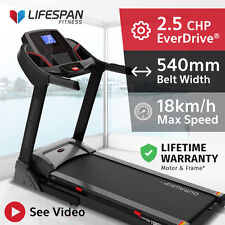 Lifespan TORQUE II #Extra Wide Belt 540mm Electric Treadmill EverDrive® Motor