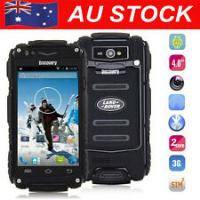 Discovery V8 Smartphone Dual Core Waterproof Rugged Android Mobile Phone Black