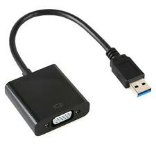 USB 3.0 to VGA Video Graphic Multi Display Cable Adapter Card For WIN 7/8 UK