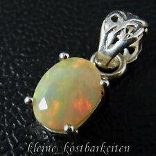 Anhänger * 925er Sterlingsilber * Äthiopischer (WELO) Opal im Facettenschliff