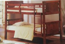 Bunk bed King single  SOLID Oak Stain Hardwood NEW Limited Stock