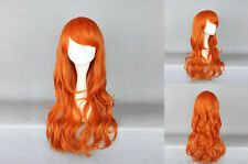 Ladieshair Cosplay Wig Perücke orange 60cm onepiece nami two years Karneval GTC