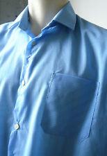 VEB Permaflott DDR Herren Hemd shirt blau blue True VINTAGE leisure 41 GDR