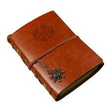 Vintage Classic Retro Leather Journal Travel Notepad Notebook Corsair Diary Book