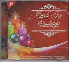 CAROLS BY CANDLELIGHT on 2 CD's - NEW- 30 CHRISTMAS CLASSICS