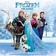 FROZEN THE SONGS CD ALBUM DISNEY SOUNDTRACK  (2015) **free UK p+p**