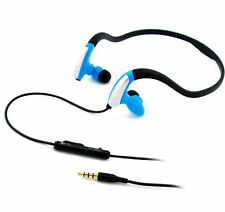 Neckband Sports Headphones Earphones with Mic Bass for Running