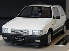 1/18 FIAT UNO TURBO IE MKI WHITE TOP MARQUES MK1 RARE MODEL ENGINEERING BY BBR