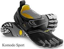 UK 6 Mens Vibram Fivefingers KMD Sport Komodo Black/Silver/Grey Shoes M3685