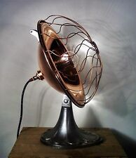UpCycled Vintage Copper Heat Lamp Adjustable Industrial/Steampunk Table Lamp
