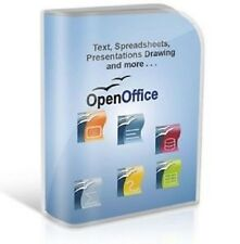 OPEN OFFICE 2015 Pro Edition for Microsoft Windows. Ideal for Home or Student