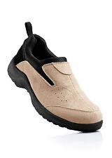 Stilsichere Echt Lederslipper Schuhe in Beige - Gr. 39 - M643 - 930826
