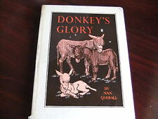 "HB 1ST BUT 13TH IMP 1954 ""DONKEY GLORY"" NAN GOODALL"