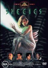 SPECIES (Natasha HENSTRIDGE Ben KINGSLEY Michael MADSEN) HORROR DVD Region 4