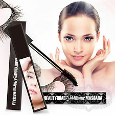 5D Mirror Eye Mascaras Makeup Long Eyelash Fiber Curling Lash Volume Waterproof