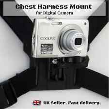 New Universal Chesty Chest Strap Harness Mount Holder for Digital Camera DSLR