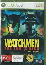 Xbox 360 Watchmen the end is Nigh parts 1 & 2 (IMPORT) NEW