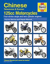 Haynes Manual 4871 Chinese, Taiwanese and Korean 125 cc Motorcycles