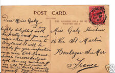 Genealogy Postcard - Family History - Huchin - Boulogne-Sur-Mer - France BH4909