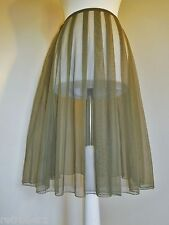 MAIS IL EST OU LE SOLEIL SKIRT FULLY SHEER TUTU MESH BOHEMIAN EVENING PARTY 10