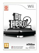 DJ Hero 2 - Game Only (Wii) BRAND NEW SEALED NINTENDO