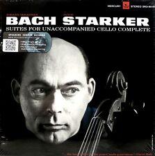 * MERCURY - SR3-9016 - 3 LP BOX - BACH - THE CELLO SUITES - JANOS STARKER *