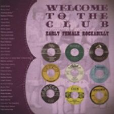 V.A.  - welcome to the club - early female rockabilly - CD
