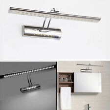 7W Stainless steel Dressing Table Mirror Sconces LED Wall Light Bathroom Lamp UK