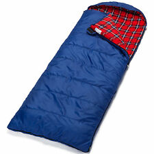 SKANDIKA DUNDEE XL ENVELOPE SLEEPING BAG SYNTHETIC BLUE RIGHT NEW