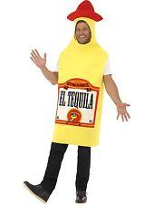 Adult Unisex Tequila Bottle Costume Funnyside Fancy Dress Smiffys Costume