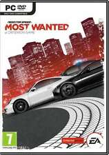 Need for Speed Most Wanted - PC DVD - brand new and factory sealed