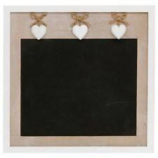 "BEAUTIFUL ""PROVENCE"" LARGE CHALK BOARD ~ SHABBY CHIC ~ HEARTS"