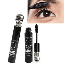 Women Skull Eye Lashes Makeup Cosmetic Waterproof Eyelash Black Brush Mascara