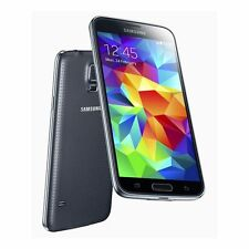 Samsung Galaxy S5 SM-G900F black Android Unlocked 16GB Mobile Phones NEW