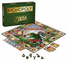 MONOPOLY THE LEGEND OF ZELDA - collectors edition board game by hasbro games