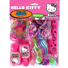 HELLO KITTY PARTY SUPPLIES FAVOURS 48 PC MEGA FAVOUR PACK GENUINE LICENSED