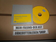 CD Pop Concrete Knives - Greyhound Racing (2 Song) Promo BELLA UNION