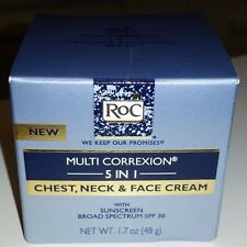HEXINOL RoC MULTI CORREXION 5 IN 1 CHEST NECK FACE CREAM SUNSCREEN SPF 30