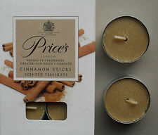 Scented Tealight Candle Cinnamon Sticks Scent Pack of 6 Tealights by Prices