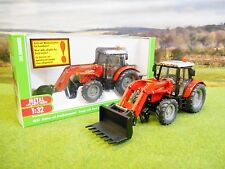 SIKU MASSEY FERGUSON 5455 4WD TRACTOR WITH LOADER 1/32 3653 *BOXED & NEW*