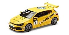NEW GENUINE VW SCIROCCO CUP 2012 DUNLOP TEAM YELLOW 1:43 SCALE DIECAST MODEL CAR