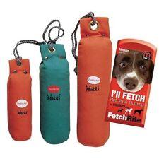 Mikki Floating Dog Toy Canvas Training Fetch Dummy Large