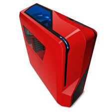 NZXT PHANTOM 410 RED ATX GAMING USB3 PC CASE WITH SIDE WINDOW & FANS CA-PH410-R1