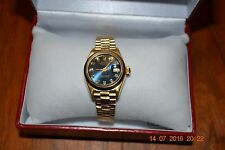 Rolex Gold Oyster Perpetual Lady Datejust